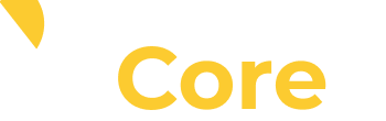 Texada Core white and yellow logo